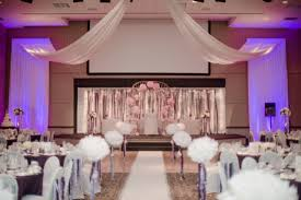 wedding and reception in same room home decoration ideas designing