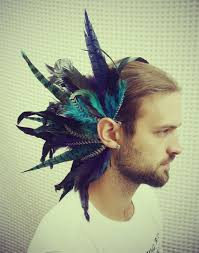 how to make feather ear cuffs handmade large feather ear cuff feather headpiece tribal