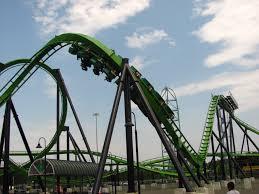 New Jersey Six Flags Address File Green Lantern Corkscrew Great Adventure Jpg Wikimedia Commons