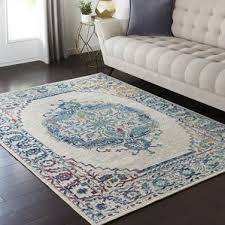 Teal Living Room Rug by Gray And Teal Rug Wayfair