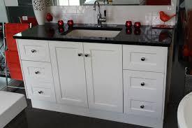Vanity Supplies Custom 1500mm Vanity Unit With Black Granite Top U2013 Bathroom