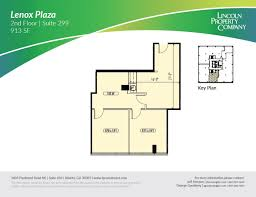 Lenox Floor Plan Lincoln Property Company 3384 Peachtree Rd Ne Atlanta Ga
