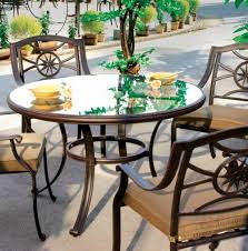 round glass top patio table and chairs home design ideas