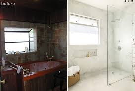 Bathroom Cheap Makeover Before And After Small Bathroom Makeovers Big On Style