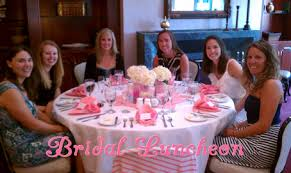 bridal luncheon events the preppy planner