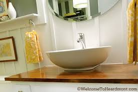 Inexpensive Vanities For Bathrooms Harvest Gold Bathroom Pick My Presto The Lettered Cottage