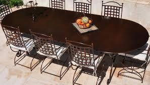 m chaises ensemble table en fer forgé avec 2 fauteuils et 6 chaises haut de
