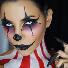 Clown Halloween Costume 25 Clown Makeup Ideas Harlequin Makeup