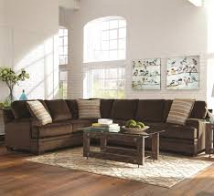 Chenille Living Room Furniture by Living Room Coaster Fine Furniture Chenille And Leather
