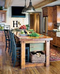 farm table kitchen island best 25 farm style island kitchens ideas on farm