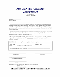 plan monthly budget forms payment payment agreement template plan