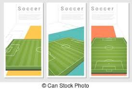soccer background 1 sketching of the soccer background vector