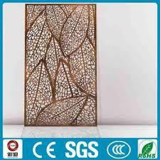 high quality laser cut metal room divider screen buy room