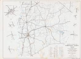 Texas State Road Map by General Highway Map Robertson County Texas The Portal To Texas