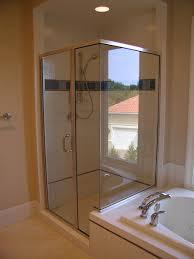 semi frameless shower doors in md dc va