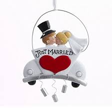 just married ornaments