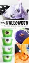 halloween slime recipes and ideas for kids to make videos too