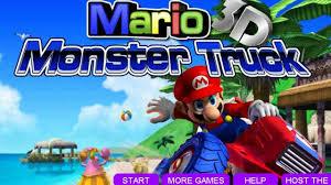 monster truck games video mario monster truck 3d best game for kids video dailymotion