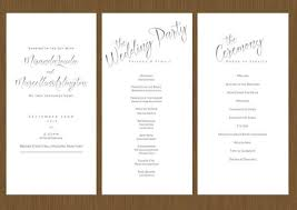 wedding program designs wedding programs tagged custom wedding invitations detail