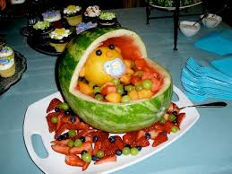 Fruit Decoration Ideas For Baby Shower Baby Shower Ideas Watermelon Baby Shower Decoration Ideas