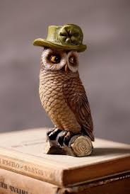 Decorative Statues For Home At Luxury Wise Owls Set Figurine
