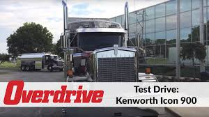 kenworth icon 900 test drive youtube