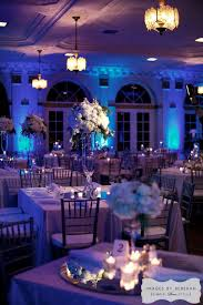 purple and blue wedding our lovely ballroom in a winter blue white hue ywca ft worth