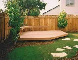 Simple Backyard Landscape Ideas Best 25 Backyard Deck Designs Ideas On Pinterest Decks Deck