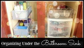 Bathroom Sink Organizer by Under The Bathroom Sink Organization Spring Cleaning Half Mom