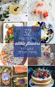 edible photo 32 ways to bring edible flowers into your dinner menu c makery