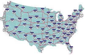 map us interstate system if the us interstate system was instead a subway system der
