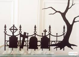 halloween window silhouettes atta says