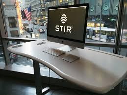 stir kinetic m1 standing desk is best smart desk money can buy
