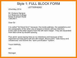 sample friendly letter block format cover letter templates