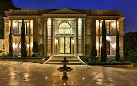 neoclassical homes neoclassical style estate in bel air ca re listed homes of the rich