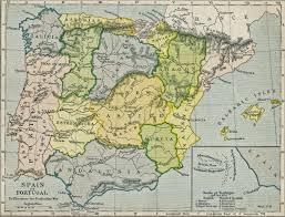 Map Of Spain And Portugal Peninsular War