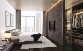 simple but home interior design small but stylish bedroom design with pillowy bed and simple