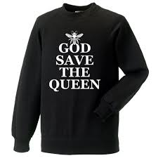 god save the queen bee as worn by chrissie hynde the pretenders