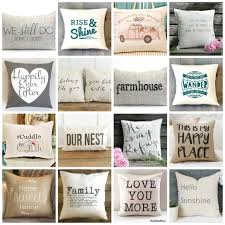 pillows with quotes the best neutral pillows with quotes diy beautify