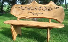 Rustic Outdoor Bench by Bench Rustic Wood Bench Accessible Wooden Seat Bench U201a Thank