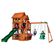 Backyard Swing Sets For Kids by Playsets U0026 Swing Sets Parks Playsets U0026 Playhouses The Home Depot