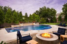 swimming pool with hardscape and landscape ideas cool backyard