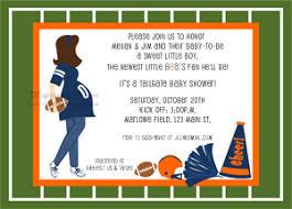 football themed baby shower football baby shower invitations blueklip