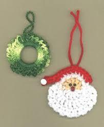 25 free crochet ornament patterns