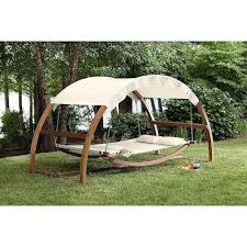 Hammock With Wood Stand Double Hammock With Stand Arch Swing Outdoor Bed Backyard Patio
