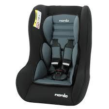 siege auto nania nania siège auto trio eco groupe 0 1 2 avec réducteur noir achat