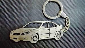 subaru legacy custom subaru legacy 2004 key chain personalized keyring car keychain