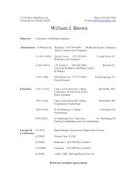 Carpenter Resume Sample by Bills Resume Carpenter