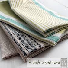 chris dodsley mbcd easy fast make a dish towel tute