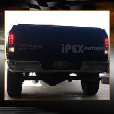 2003 dodge ram tail lights 2002 2005 dodge ram dual halo projector black headlights led tail